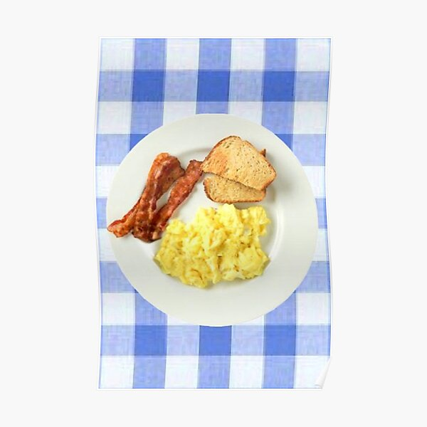 Ron Swanson Breakfast  Poster