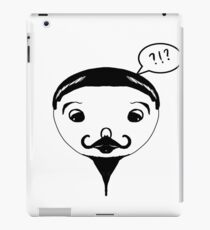 Funny Man design  iPad Case/Skin