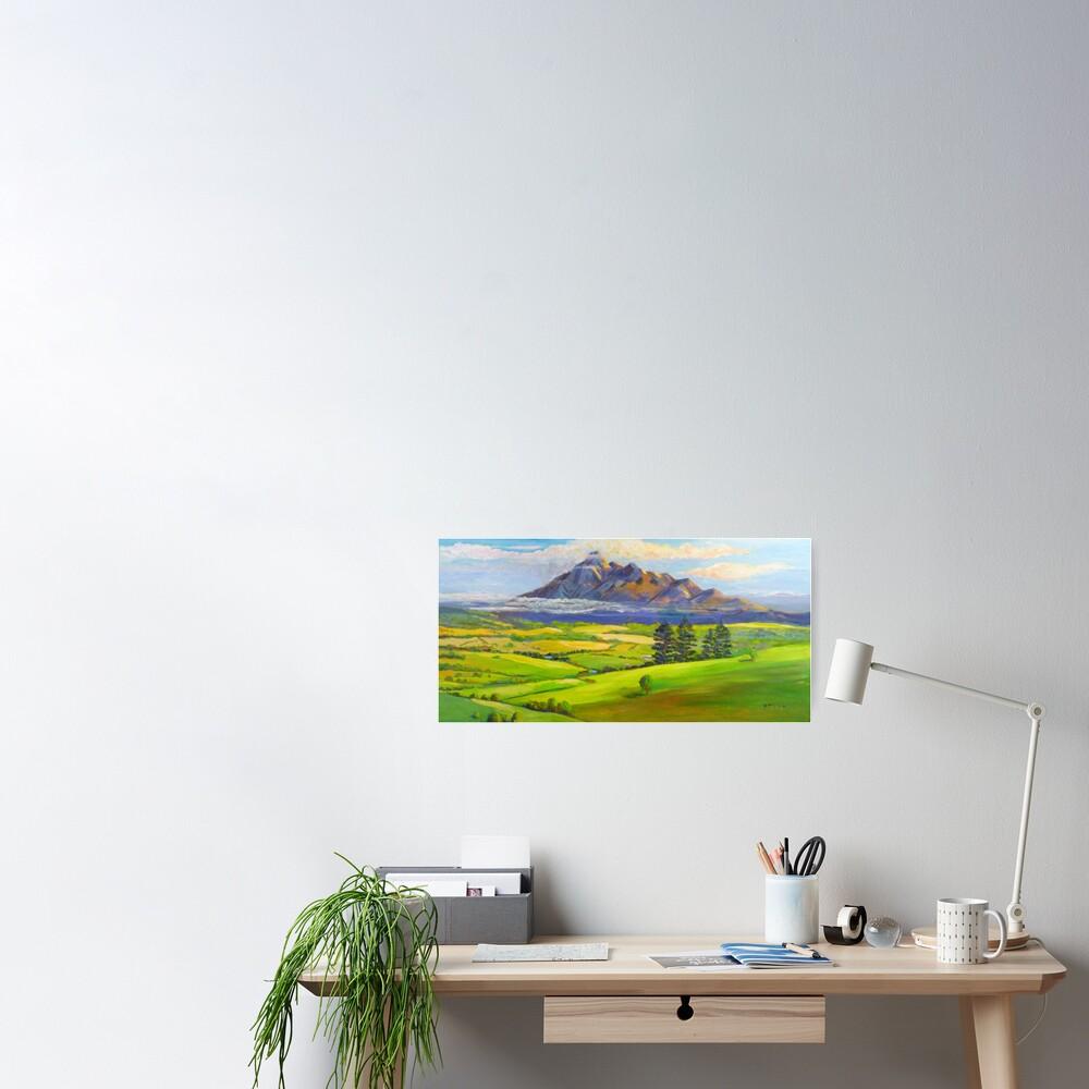 Beautiful Mt Barney  Poster