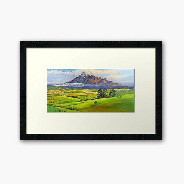Beautiful Mt Barney  Framed Art Print