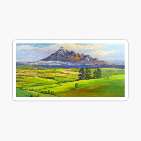 Beautiful Mt Barney  Sticker