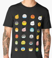 Round Birbs Men's Premium T-Shirt