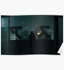 Blade Runner 2049 Alone Poster