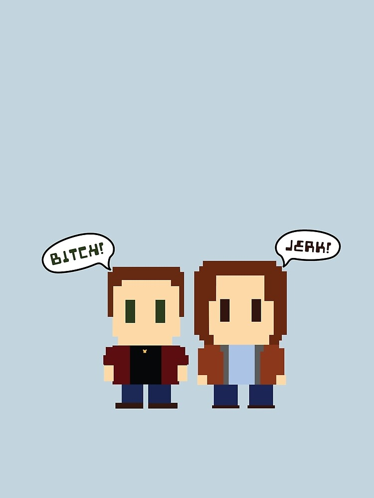Sam & Dean by hellhoundpit