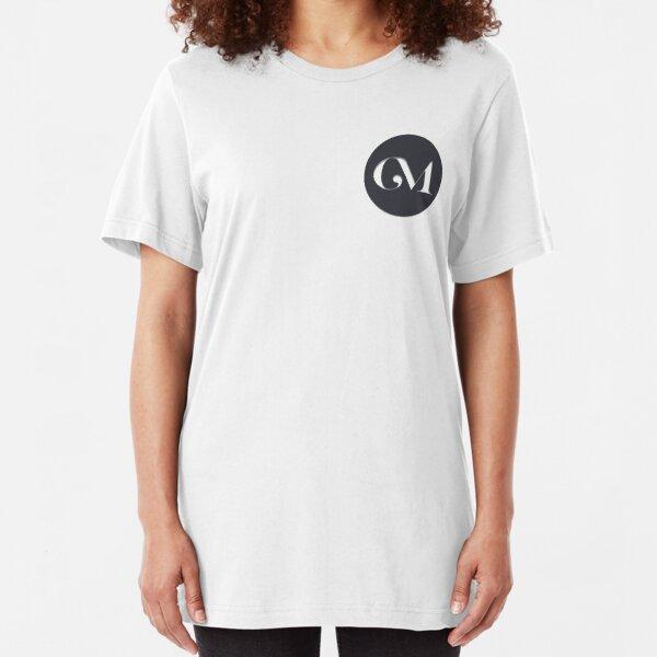 Crammed Mind Logo Slim Fit T-Shirt