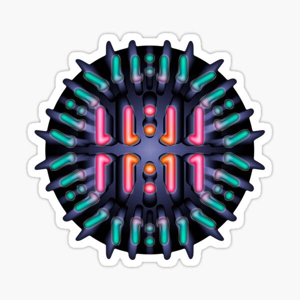 11:11 Mandala Sticker