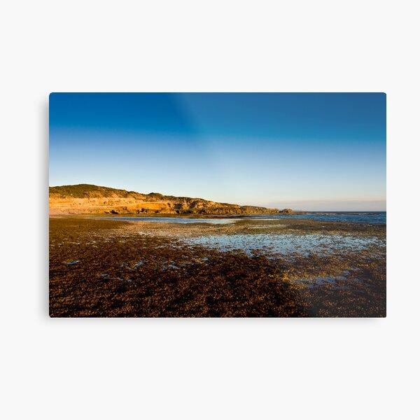 Pearse's beach at dusk Metal Print