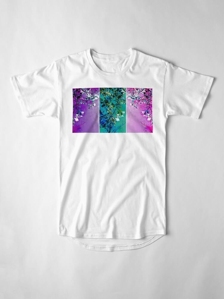 Alternate view of Tryptich: Spring Synthesis Long T-Shirt