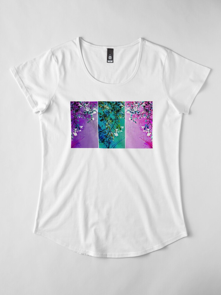Alternate view of Tryptich: Spring Synthesis Premium Scoop T-Shirt