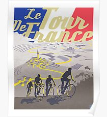 Retro- Plakat Le Tour de France Poster