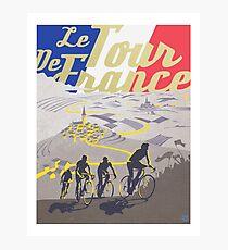 Retro- Plakat Le Tour de France Fotodruck