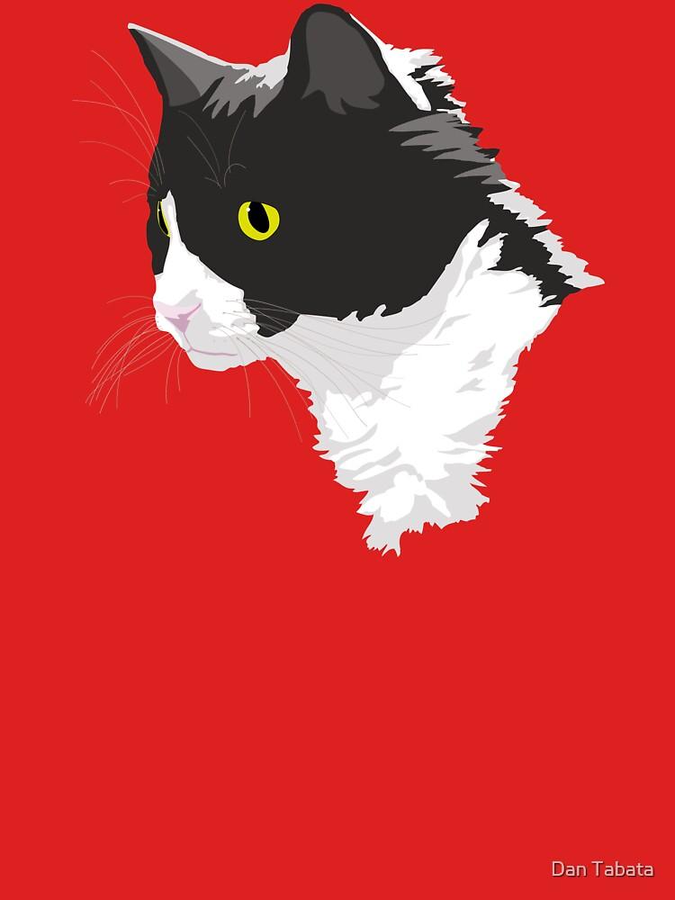 Tuxedo Cat by dmtab