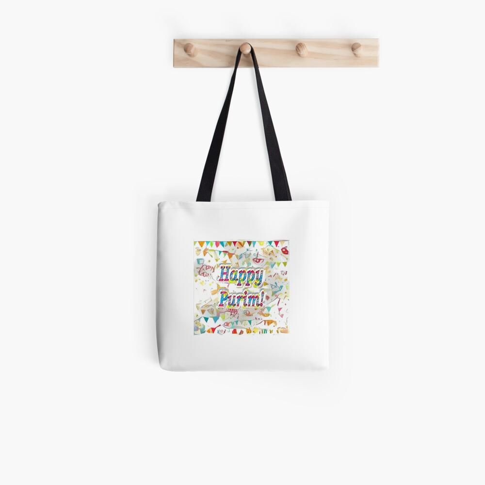 Happy Purim! confetti Tote Bag