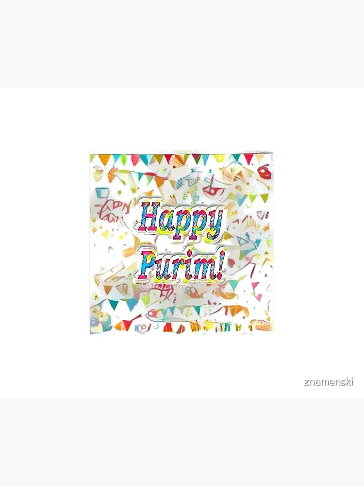 Happy Purim! confetti by znamenski