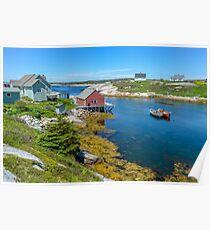 Peggys Cove - Nova Scotia Poster