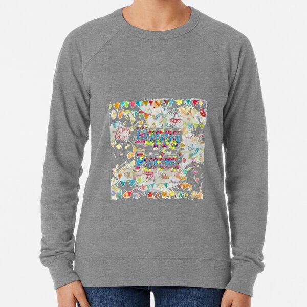 Happy Purim! Lightweight Sweatshirt