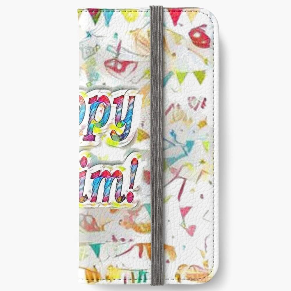 Happy Purim! iPhone Wallet