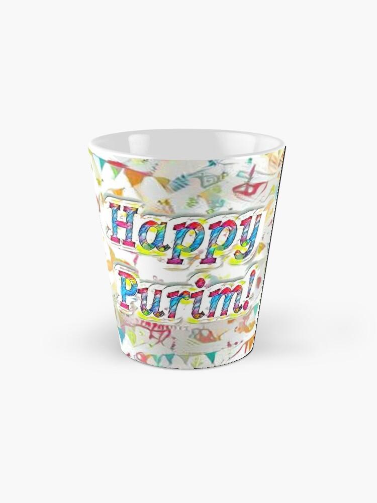 Alternate view of Happy Purim! Mug