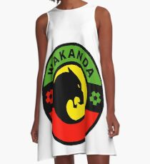 Wakanda Pullover A-Line Dress