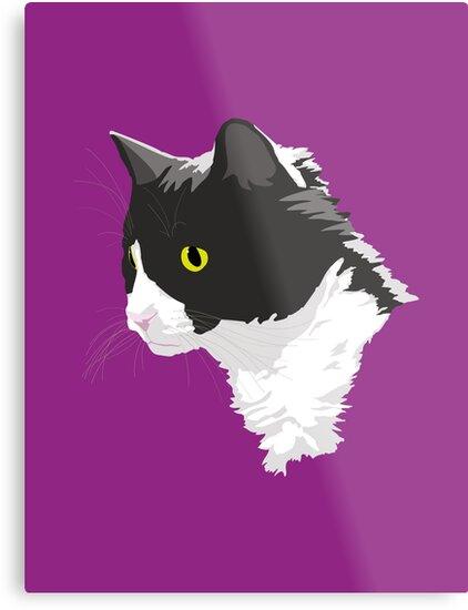 Tuxedo Cat by Dan Tabata