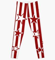 Indiana-Stern-Streifen Leggings