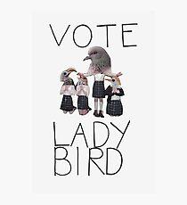 LADY BIRD Photographic Print