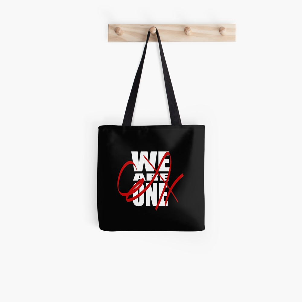 We Are One (in white) Tote Bag