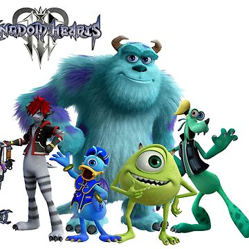 kingdom Hearts 3 - Monsters Inc. 2 by Twinsnakes0000