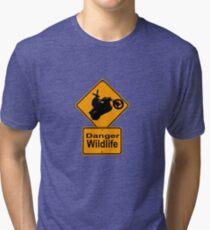 Bikeroo Tri-blend T-Shirt