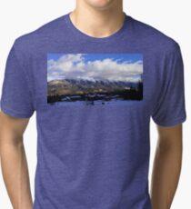 Ski Bum Life - Fernie, Canada Tri-blend T-Shirt
