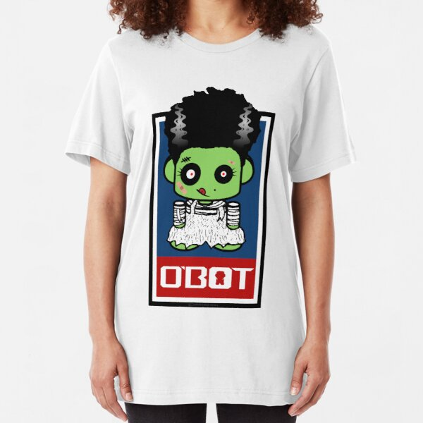 Bride of Zombio'bot 1.1 Slim Fit T-Shirt