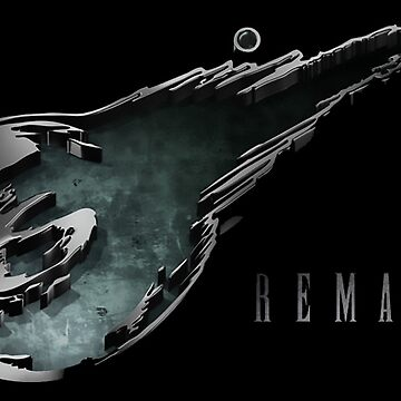 Final Fantasy VII Remake Symbol by Twinsnakes0000