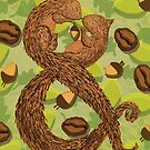 Ampersand: Squirrel by millyjcdesigns