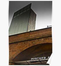 Hilton Above Deansgate Locks Poster