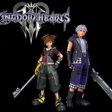 Kingdom Hearts 3 - Sora & Riku by Twinsnakes0000