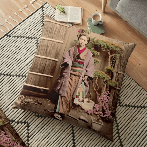 Japanese child Floor Pillow