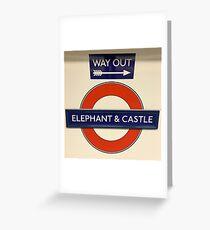 Historic London Underground Stations Elephant Castle Station 1