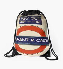 Elephant Castle Station On The London England Underground Subway Train Transit System Or