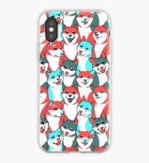 8-Bit Me Shiba (Mobile and Laptop) iPhone Case