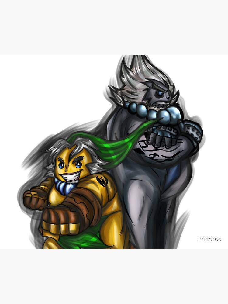 Goron Link und Darmani von krizeros