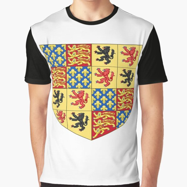 Jewish,  Hainault coat of arms, Coat of arms, arms, crest, blazon, cognizance, childrensfun, purim, costume Graphic T-Shirt
