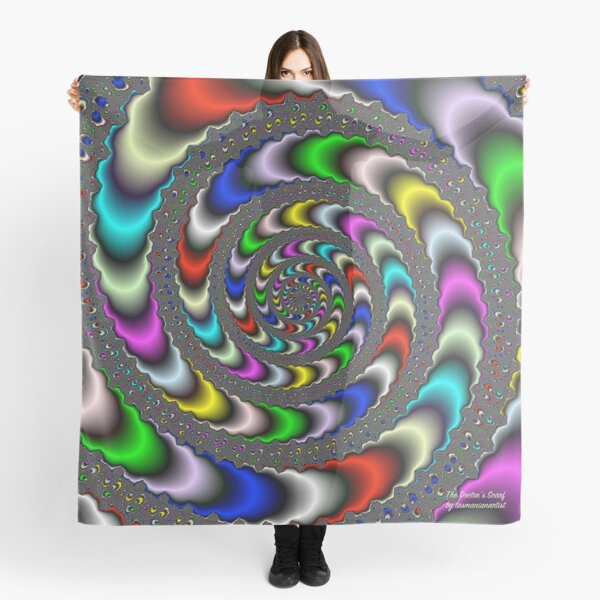 GALLIMAUFRY ~ D1G1TAL-M00DZ ~ The Doctor's Scarf by tasmanianartist Scarf