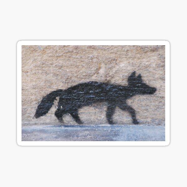 Foxy French Sticker