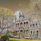 Carlton streetscape by Peter Krause