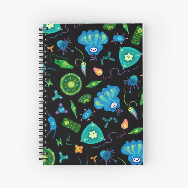 Phytoplankton Spiral Notebook
