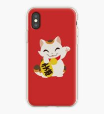 Responsible Lucky Cat Beckoning Cat Hard Phone Case Samsung Galaxy Apple Iphone Cell Phone Accessories