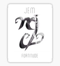 Jem Carstairs - Fortitude Sticker