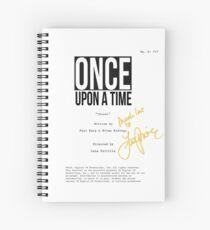 OUAT Script - Lana Parrilla Director Spiral Notebook