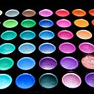 MakeUp EyeShaddow Pallet - Every Color of the Rainbow by Chrissy Ferguson