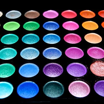 MakeUp EyeShaddow Pallet - Every Color of the Rainbow by GoddessChrissy